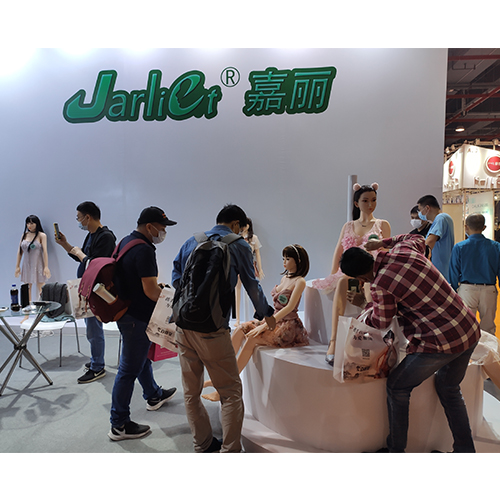 Jarliet sex doll attented adult products exhibition in Guangzhou