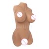 Real Sized Mini Silicone Doll for Men Torso Masturbation Realistic Vagina Pussy